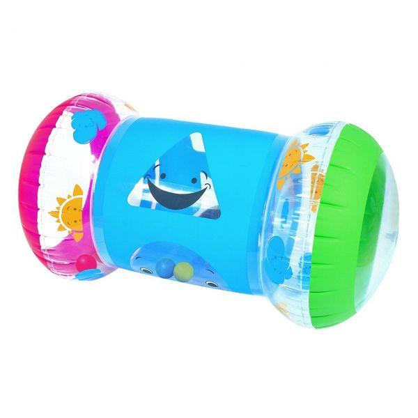 BESTWAY 52176 - Schwimmhilfe - Spielrolle Baby Steps Roller, 64x33x33 cm