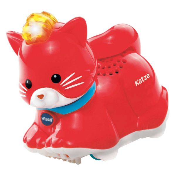 VTECH Baby 80188504 - Tip Tap Baby Tiere - Katze, rot