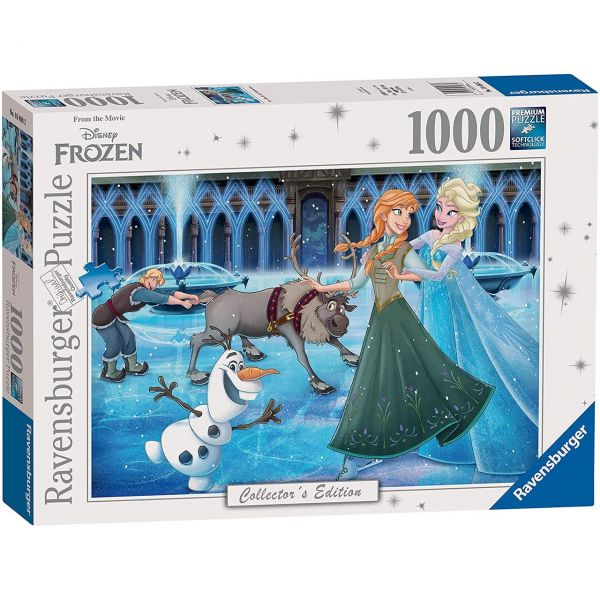 RAVENSBURGER 16488 - Puzzle - Anna, Elsa, Kristoff, Olaf und Sven, 1000 Teile