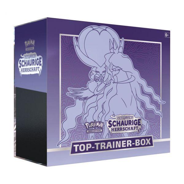 POKÉMON 45294 - Schaurige Herrschaft - Top Trainer Box, RAPPENREITER-CORONOSPA