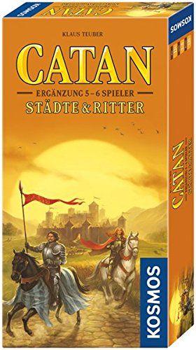 KOSMOS 695514 - Strategiespiel - Catan Städte, Ritter Ergänzung