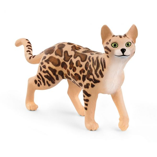 SCHLEICH 13918 - Farm World - Bengal Katze