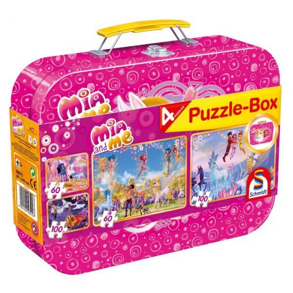 SCHMIDT 56510 - Puzzle Koffer - Mia & Me