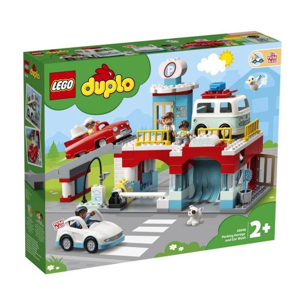 LEGO 10948 - DUPLO® - Parkhaus mit Autowaschanlage