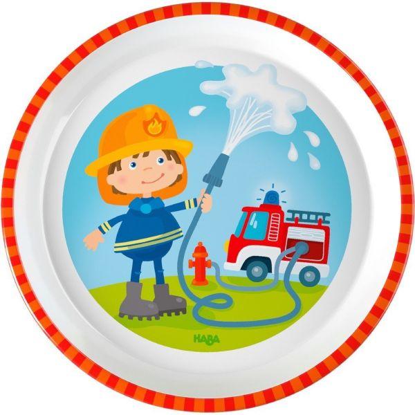 HABA 303692 - Teller - Feuerwehr