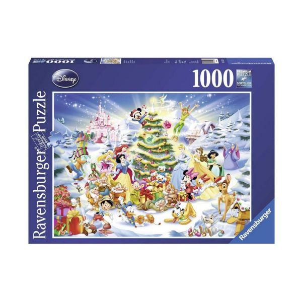 RAVENSBURGER 19287 - Puzzle - Disney's Weihnachten, 1000 Teile