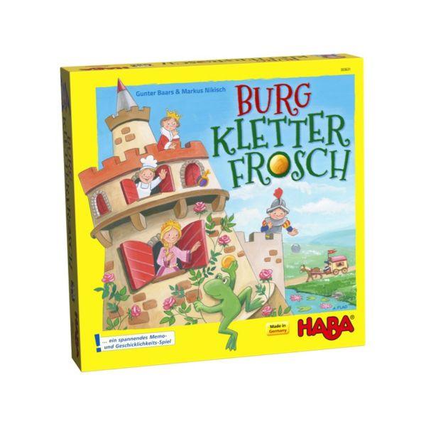 HABA 303631 - Kinderspiel - Burg Kletterfrosch