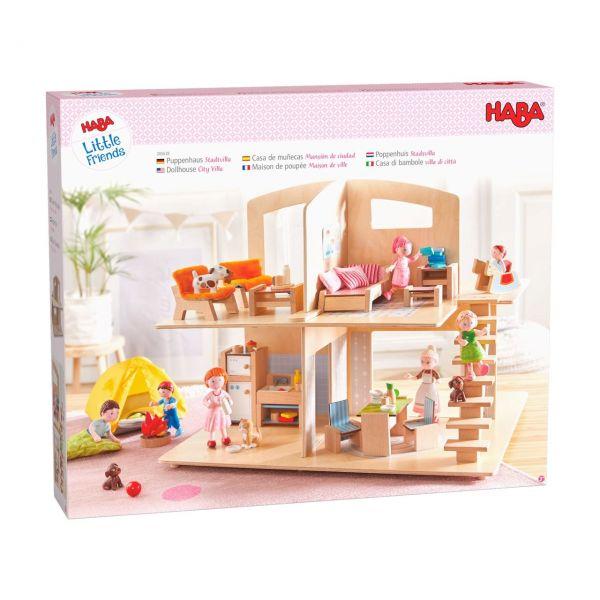 HABA 305638 - Little Friends - Puppenhaus Stadtvilla