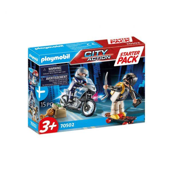 PLAYMOBIL 70502 - City Action - Starter Pack - Polizei Ergänzungsset