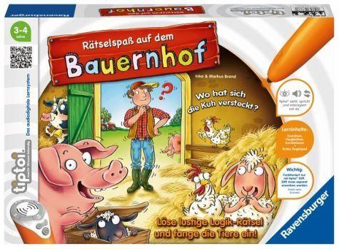 RAVENSBURGER 00830 - Tiptoi - Rätselspaß auf Dem Bauernhof