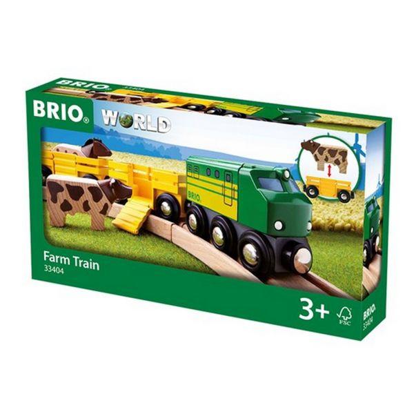 BRIO 33404 - Bahn - Bauernhof-Zug