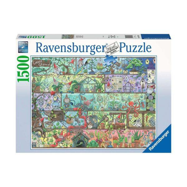 RAVENSBURGER 16712 - Puzzle - Zwerge im Regal, 1500 Teile