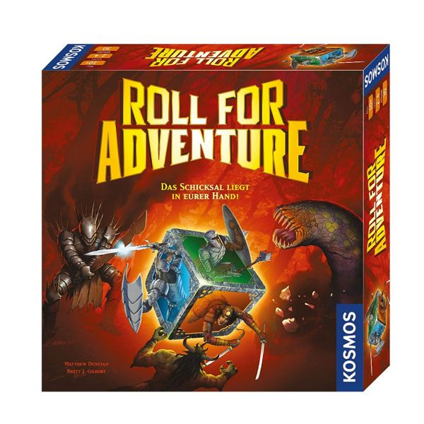 KOSMOS 692988 - Gesellschaftsspiel - Roll for Adventure