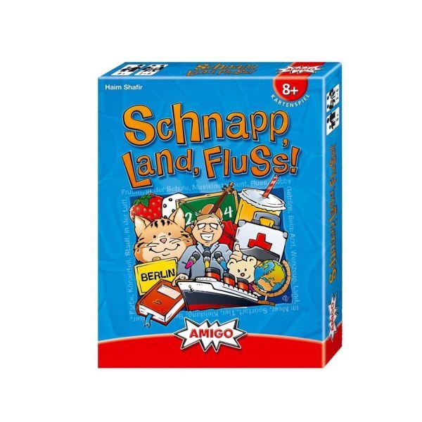 AMIGO 07930 - Kartenspiele - Schnapp, Land, Fluss!