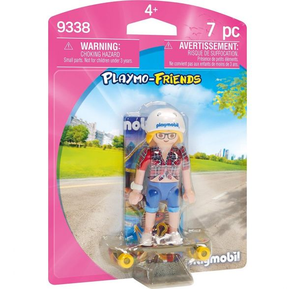 PLAYMOBIL 9338 - Playmo Friends - Teenie mit Longboard
