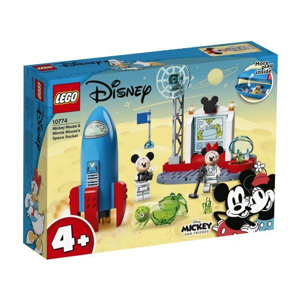 LEGO 10774 - Disney Mickey and Friends - Mickys und Minnies Weltraumrakete
