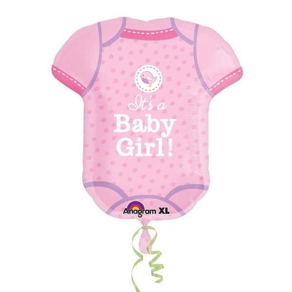 AMSCAN 30911 - Folienballon - Its a baby girl, 60 cm