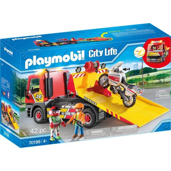 PLAYMOBIL 70199 - City Life Fahrzeugwelt - Abschleppdienst
