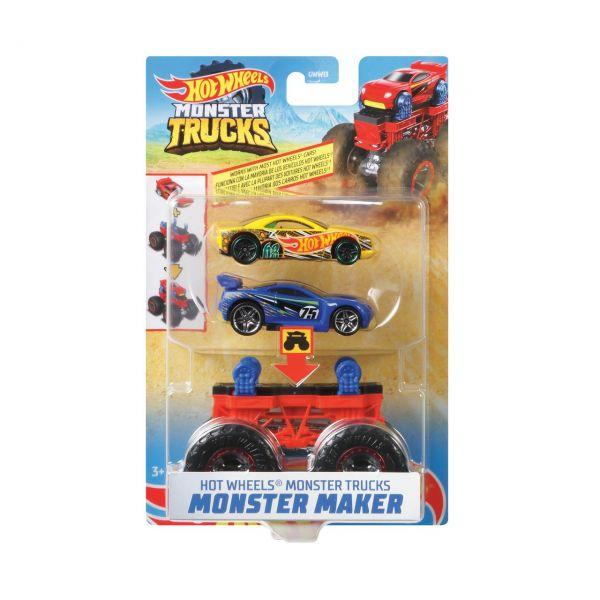 MATTEL GWW14 - Hot Wheels - Monster Trucks 1:64, Monster Maker Scorpedo