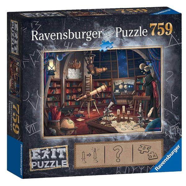 RAVENSBURGER 19950 - Puzzle - Exit 1: Sternwarte, 759 Teile