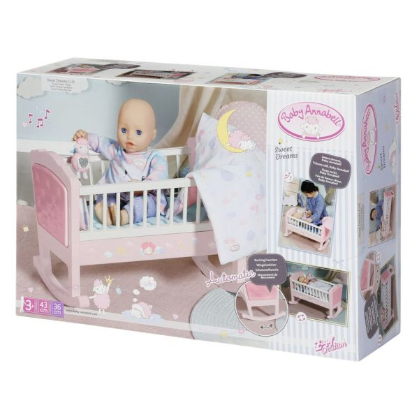 Zapf Creation 703236 - Baby Annabell® - Sweet Dreams Wiege