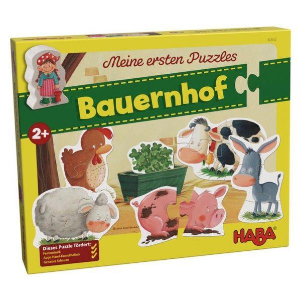 HABA 302412 - Meine ersten Puzzles - Bauernhof