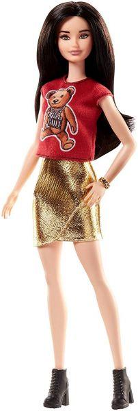 MATTEL FJF36 - Fashionistas - Barbie in Tshirt mit Teddybär-Aufdruck
