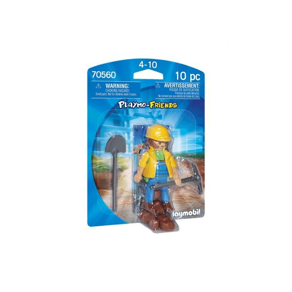 PLAYMOBIL 70560 - Playmo-Friends - Bauarbeiter