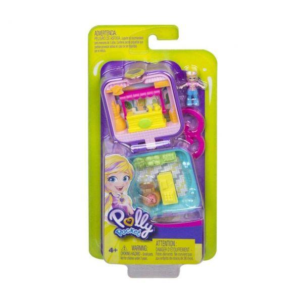 MATTEL GKJ40 - Polly Pocket - Mini-Schatulle Pollys Marktstand