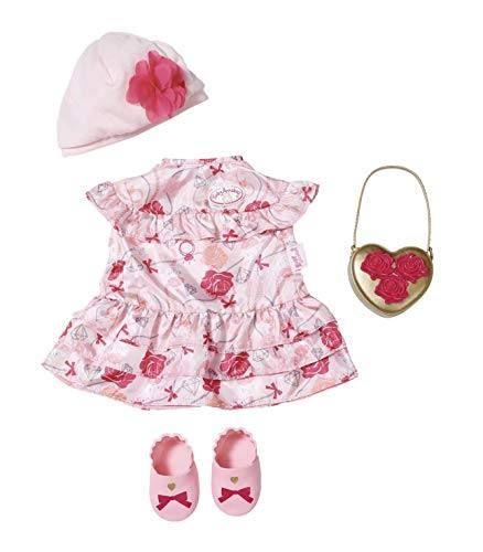 Zapf Creation 702031 - Baby Annabell® Deluxe Bekleidung - Set Blumen, 43cm