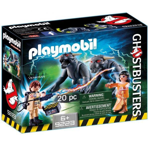 PLAYMOBIL 9223 - Ghostbusters™ - Venkman und Terror Dogs