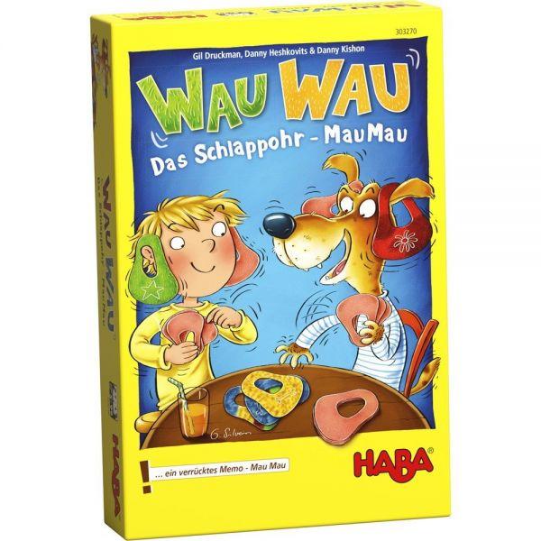 HABA 303270 - Mitbringspiel - Wau Wau, Das Schlappohr-Mau Mau