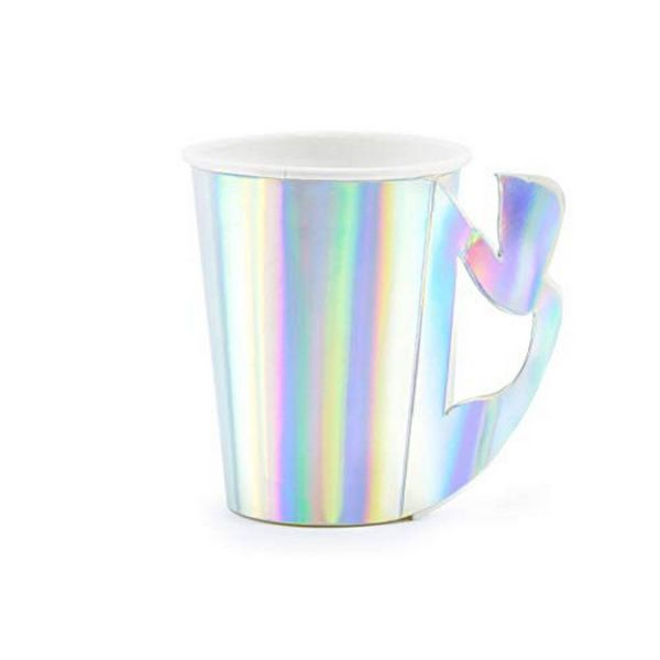 PD KPP43-017 - Mermaid Party - Pappbecher, 220ml, 6St