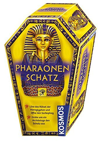 KOSMOS 676056 - Experimentierkasten - Ausgrabungsset Pharaonen-Schatz