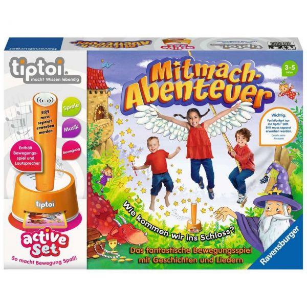 RAVENSBURGER 00044 - tiptoi active Set - Mitmach-Abenteuer