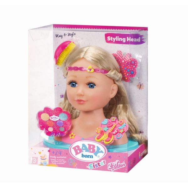 Zapf Creation 824788 - BABY born Sister Styling - Head