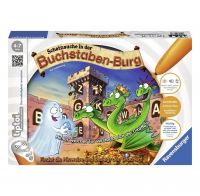 RAVENSBURGER 00737 - Tiptoi Spiel - Schatzsuche in der Buchstabenburg
