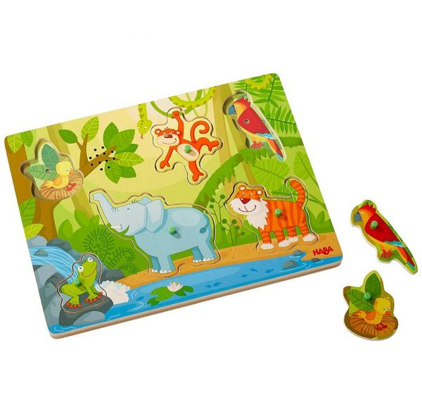 HABA 303181 - Greifpuzzle - Im Dschungel