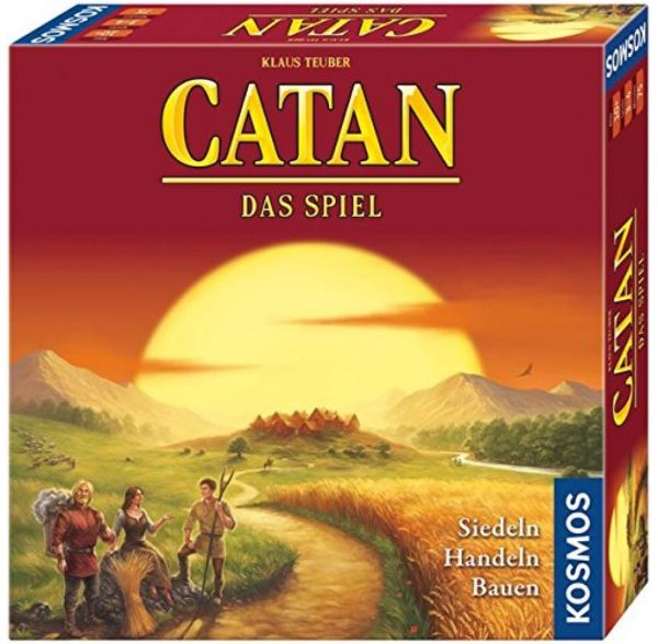 KOSMOS 693602 - Strategiespiel - Catan, Neue Edition