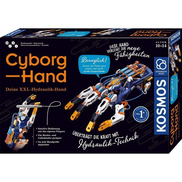 KOSMOS 620844 - Experimentierkasten - Cyborg-Hand - hydraulischer Roboter