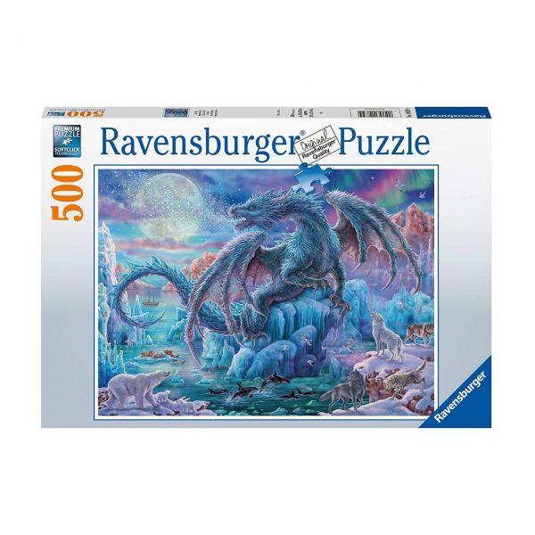 RAVENSBURGER 14839 - Puzzle - Eisdrache, 500 Teile