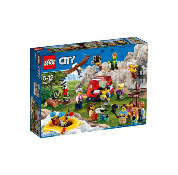 LEGO 60202 - City - Stadtbewohner - Outdoor-Abenteuer