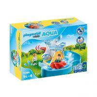 PLAYMOBIL 70268 - 1.2.3 AQUA - Wasserrad mit Karussell