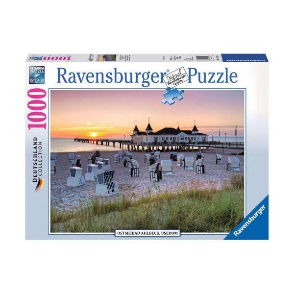 RAVENSBURGER 19112 - Puzzle - Ostseebad Ahlbeck, Usedom, 1000 Teile