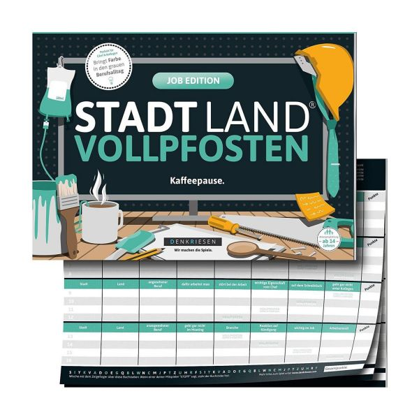 DENKRIESEN SL2008 - Stadt Land VOLLPFOSTEN - Job Edition, Kaffeepause