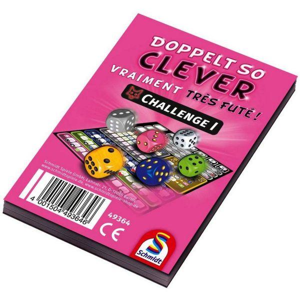SCHMIDT 49364 - Doppelt so clever Challenge - Ersatzblock, 1 Stk.