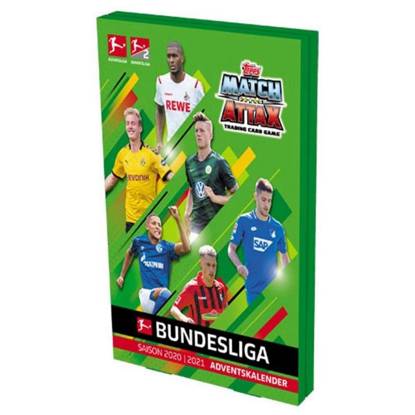 TOPPS BL2-ACL1 - Adventskalender - Match Attax Fußball Bundesliga Sammelkarten 2020