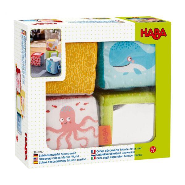 HABA 306076 - Entdeckerwürfel - Meereswelt