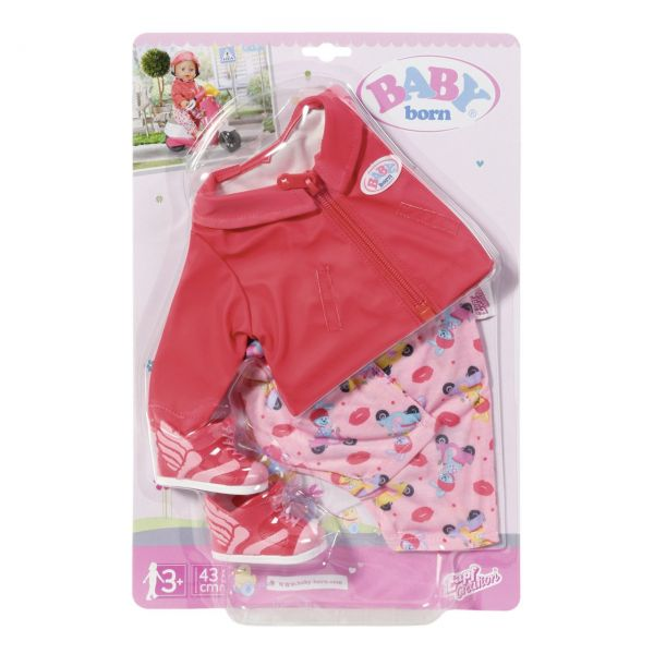 Zapf Creation 828823 - BABY born® - City Scooter Outfit, 43cm