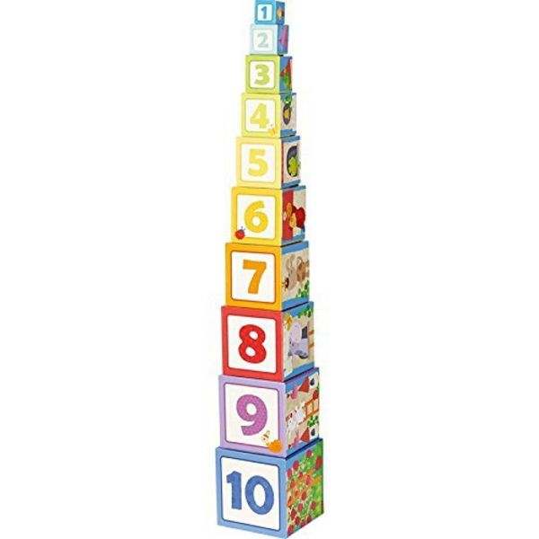 HABA 302030 - Stapelwürfel - Rapunzel